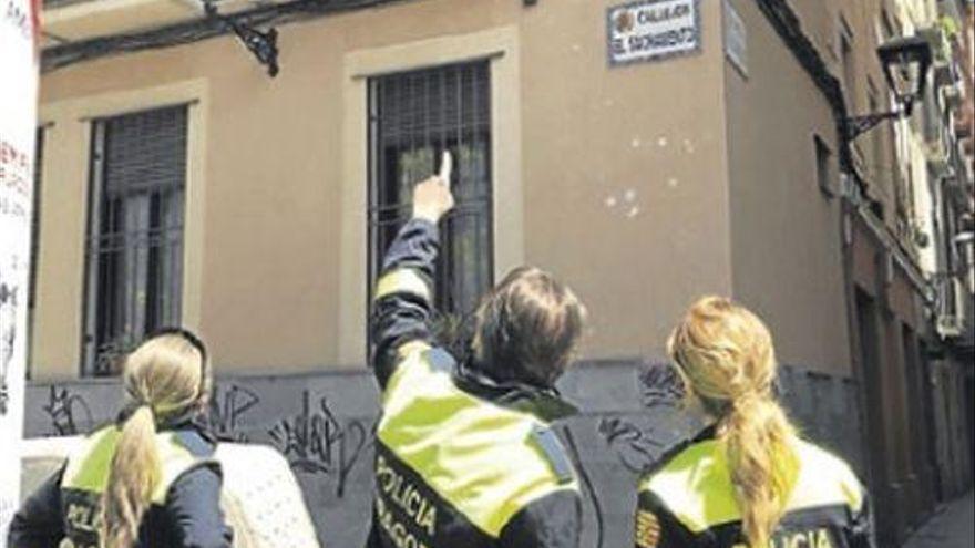 Denunciado en Zaragoza por fotografiar por la ventana a dos estudiantes de Erasmus