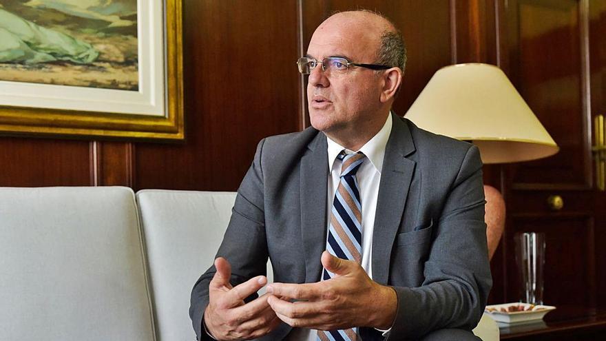 El delegado del Gobierno en Canarias, Anselmo Pestana.