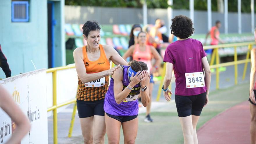 El Regional Master en Cartagena, una fiesta del atletismo para veteranos