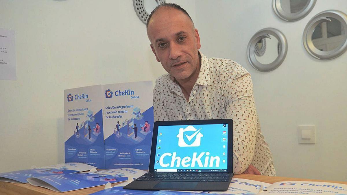 La empresa Chekin Galicia Soluciones se encarga del desarrollo y comercialización de la aplicación. |  // NP