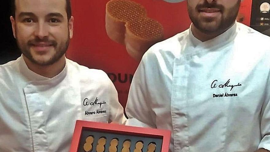 Dos oleirenses elaboran la mejor pasta de té de Galicia y la tercera de España