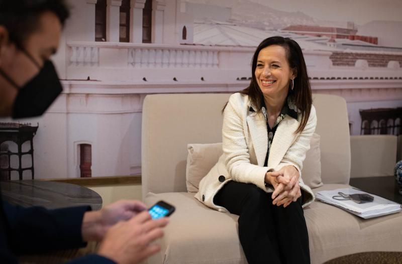 La presidenta de Red Eléctrica de España, Beatriz Corredor