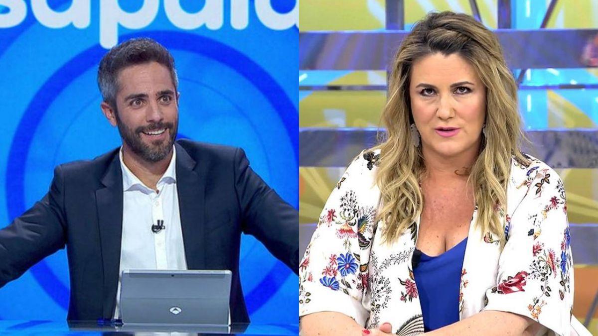 Roberto Leal y Carlota Corredera.