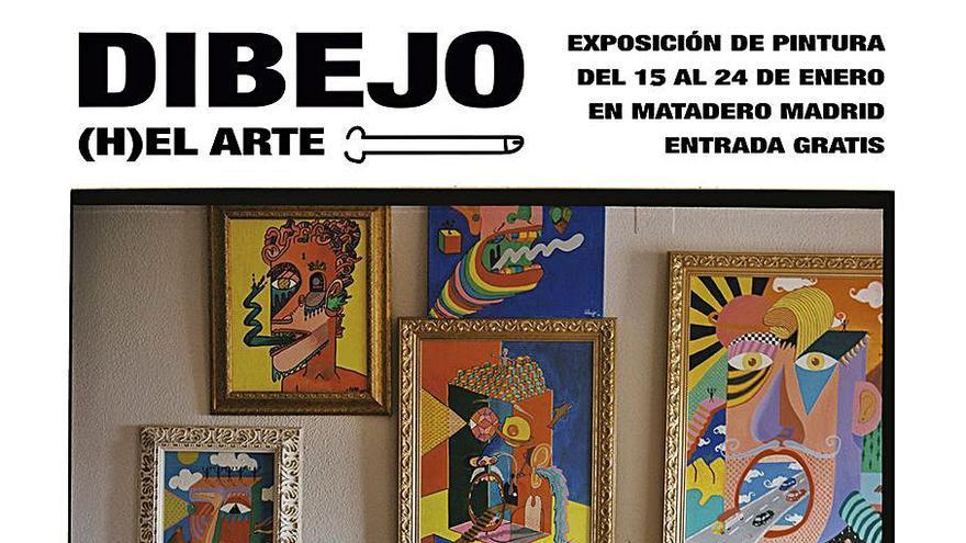 Los 'dibejos' cuelgan en Madrid