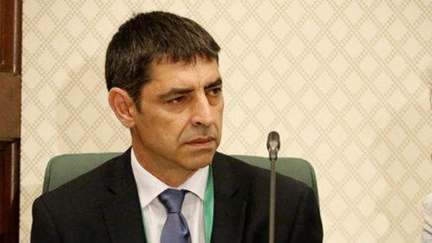 El major Trapero, restituït com a cap dels Mossos després de la seva absolució
