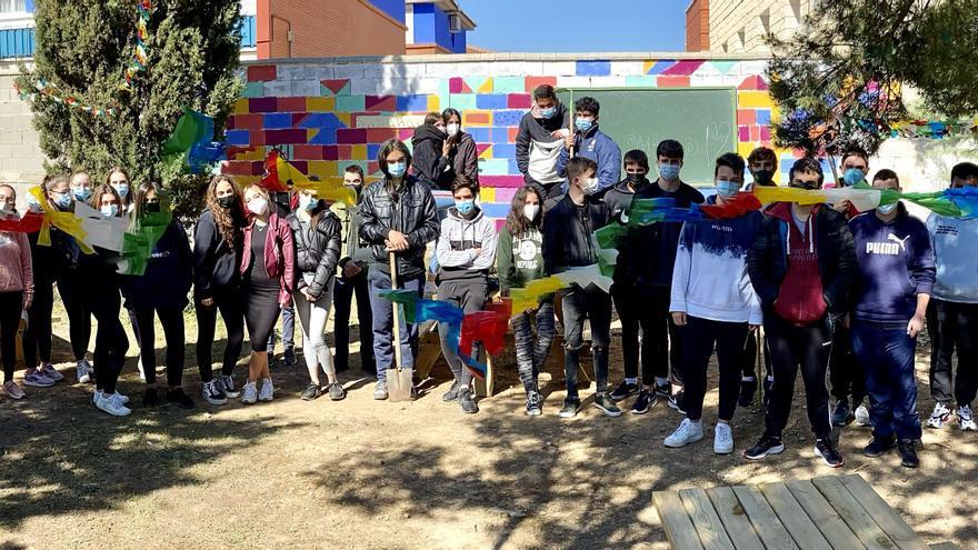 El trabajo de los estudiantes de Cariñena para que su instituto sea más ecológico