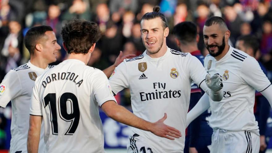 El Reial Madrid guanya demanant l'hora
