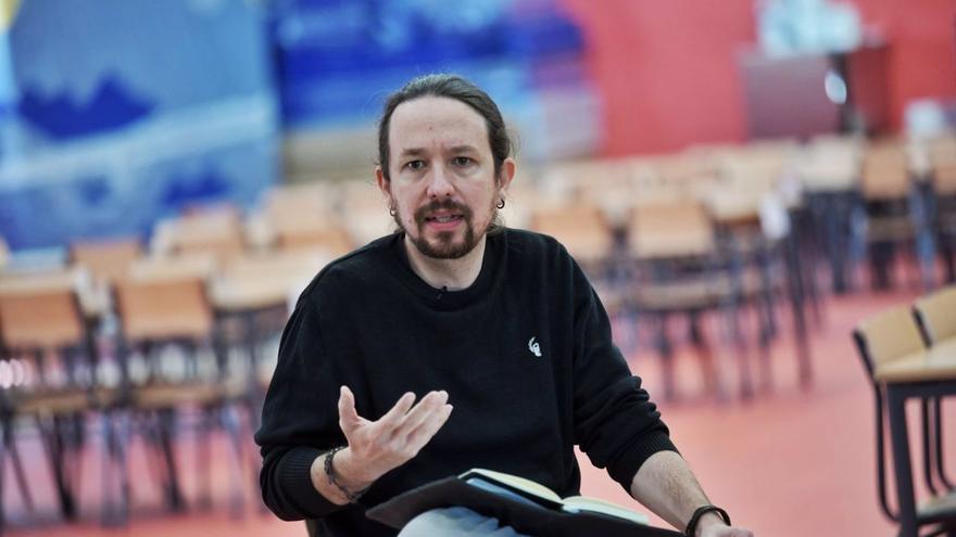 Iglesias pide la movilización de los barrios humildes en Madrid