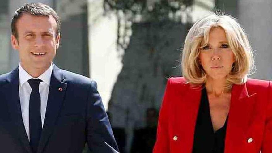 Brigitte Macron no tendrá un estatuto oficial de primera dama en Francia