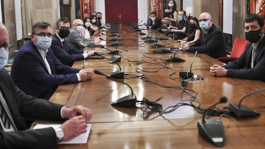 PSOE y Podemos aparcan las tensiones y presumen de entendimiento en la coalición