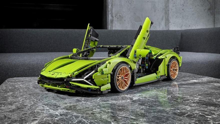 El Lamborghini Sián de Lego tiene 3.696 piezas y cuesta 379,99 euros
