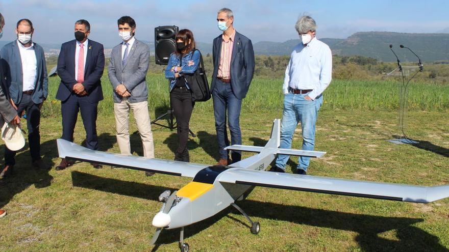 Un dron desenvolupat a Moià donarà cobertura mòbil en situacions d'emergència