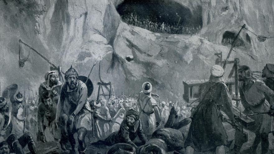 """Un senador valenciano califica de """"mito del franquismo"""" la batalla de Covadonga"""