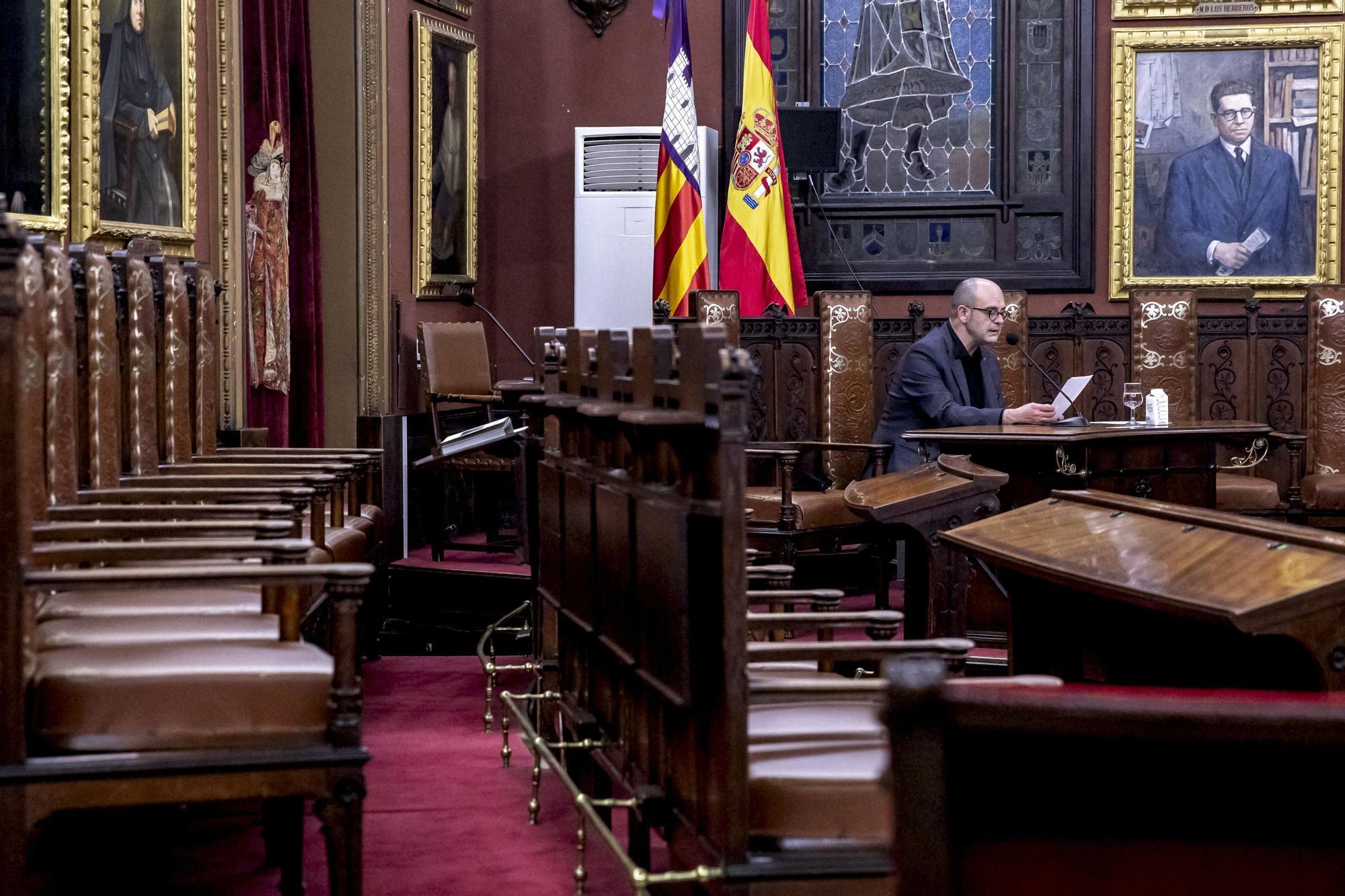 """Sebastià Alzamora reivindica una Palma """"culta"""" que cuide de sus ciudadanos"""