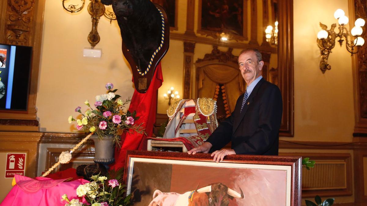 José Luis Prieto Garrido durante el Pregón Taurino.