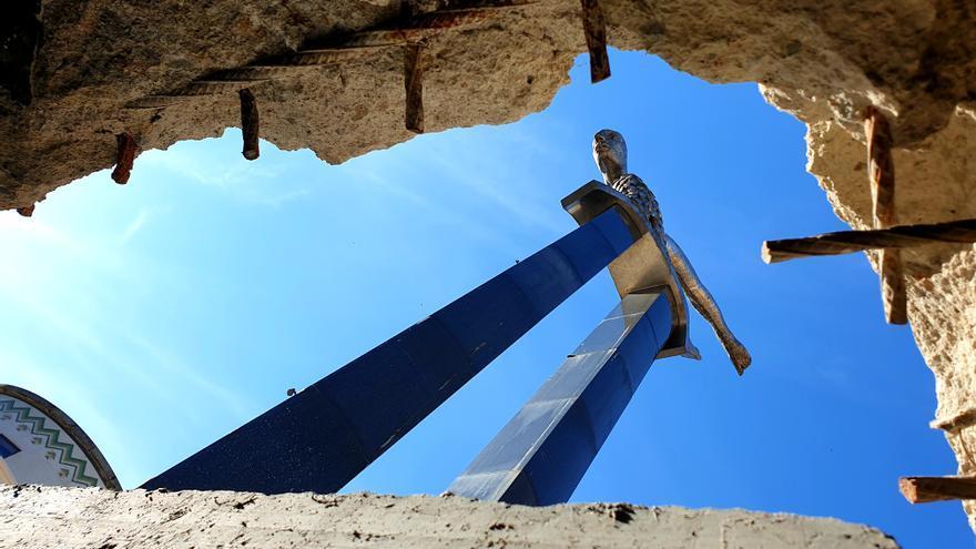 La cimentación de Porta do Sol, lista a finales de agosto
