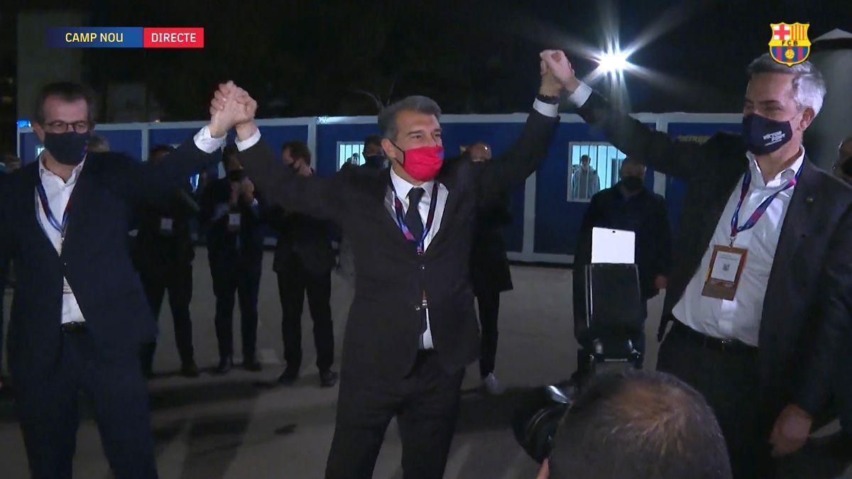 Laporta vuelve a presidir el Barça