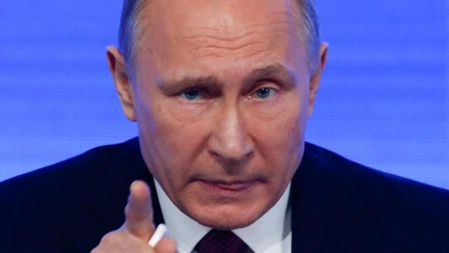 """Putin: """"No tinc dies dolents, no sóc una dona"""""""