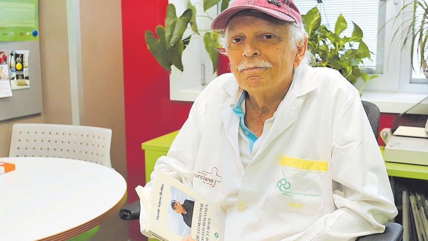 """García Medina: """"Este libro soy yo. Mi alma está ahí y eso es lo que agrada"""""""