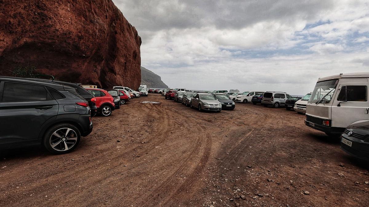 Imagen de archivo de la zona de estacionamiento de Las Gaviotas.