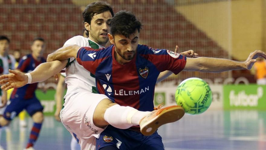 Un Córdoba Futsal desatado noquea al Levante en Vista Alegre