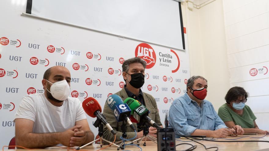 UGT y PSOE denuncian en Zamora las malas condiciones laborales de los trabajadores forestales