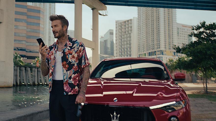 David Beckham, nuevo embajador internacional de Maserati