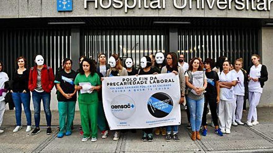 Los sindicatos denuncian falta de enfermeras en las listas de contratación de la Xunta para cubrir vacaciones en residencias