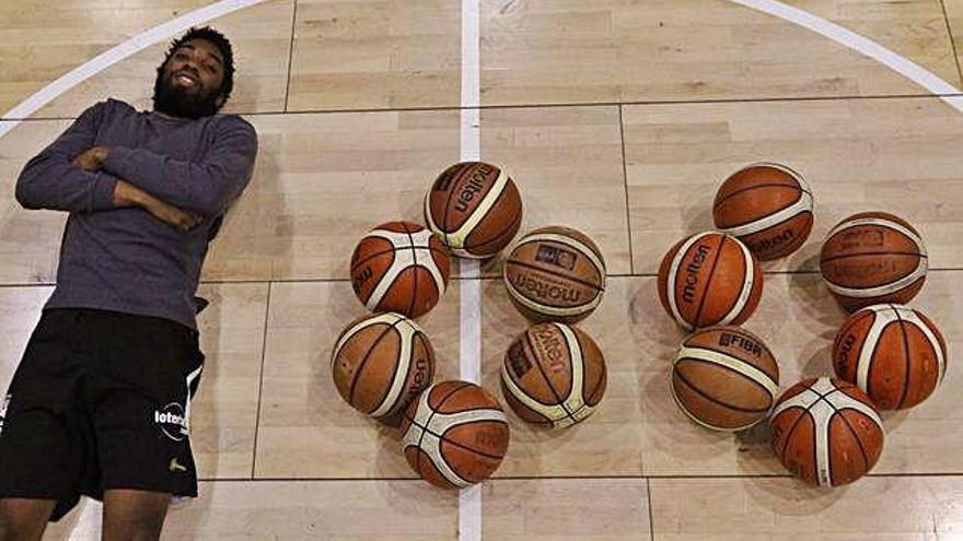 El jugador aurinegro es el máximo taponeador del baloncesto español.
