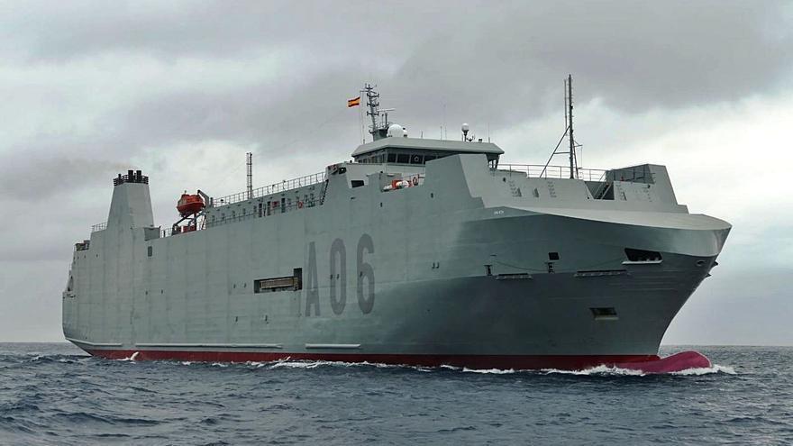 El buque de segunda mano 'Ysabel' llega a Cartagena
