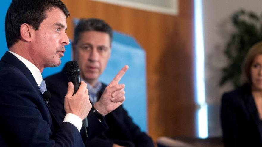 Manuel Valls a un acte del PPC: «Catalunya sense Espanya no és Catalunya»