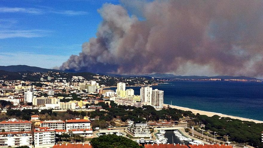 El foc de les Gavarres que va cremar 378 hectàrees el 2014 queda impune