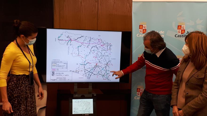Las quitanieves limpian 14.000 kilómetros de carreteras autonómicas en Zamora