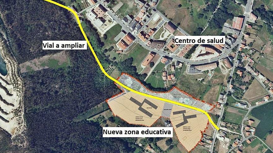 Arteixo prevé iniciar en abril el plan especial para obtener el terreno del nuevo colegio