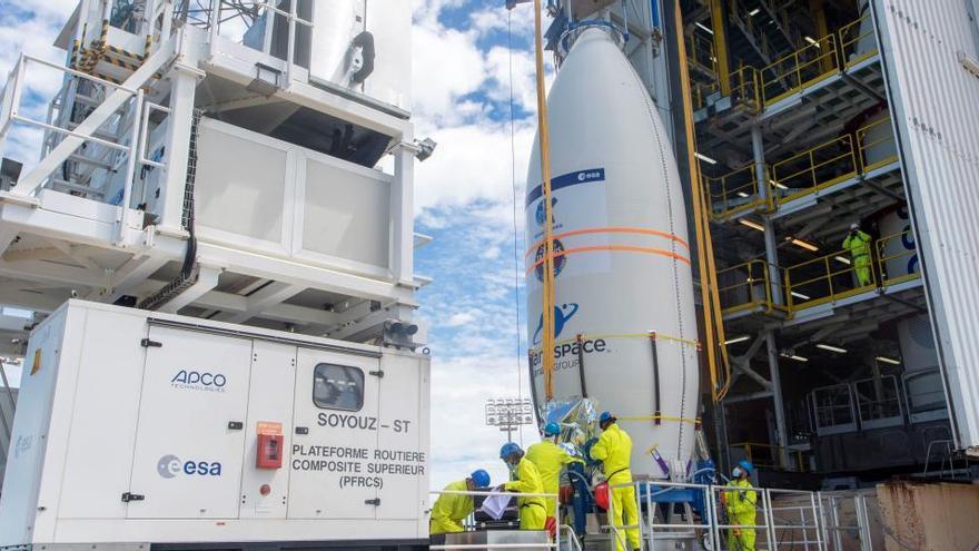 Se desvía el cohete que traslada el satélite 'Ingenio'