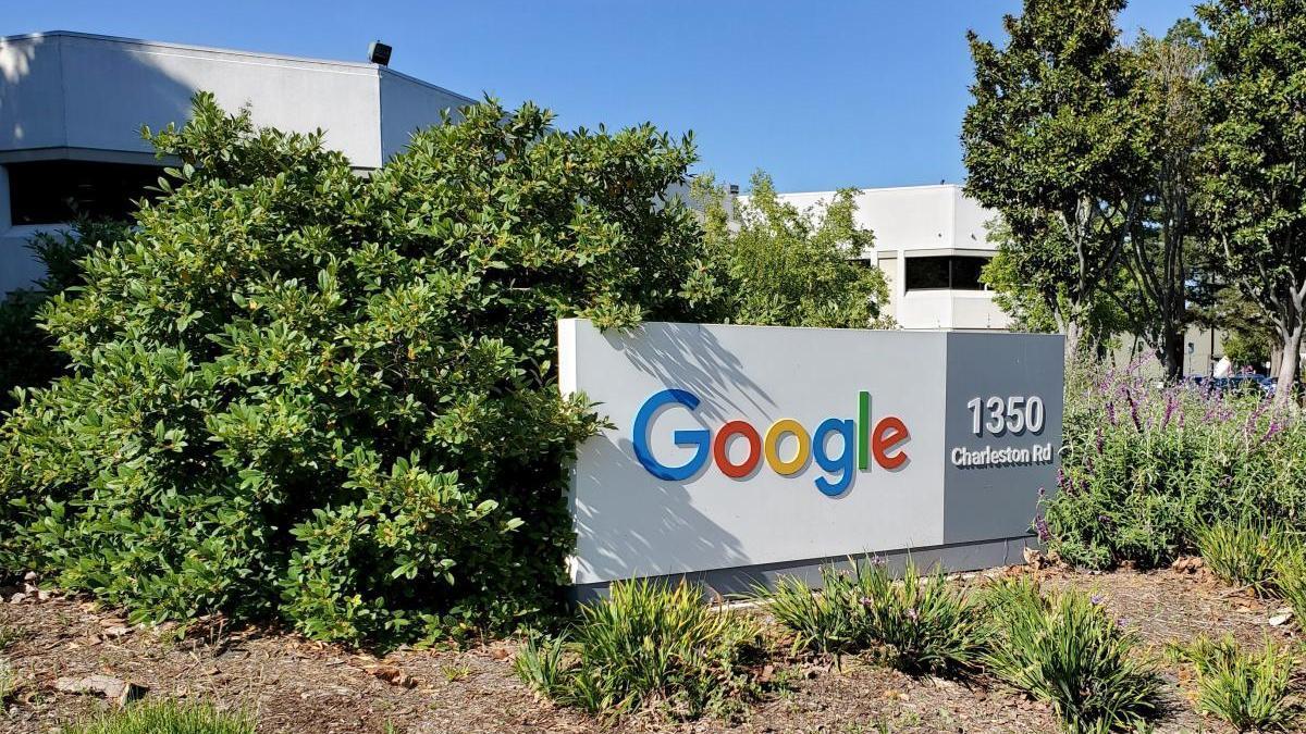 Sede de Google en California.