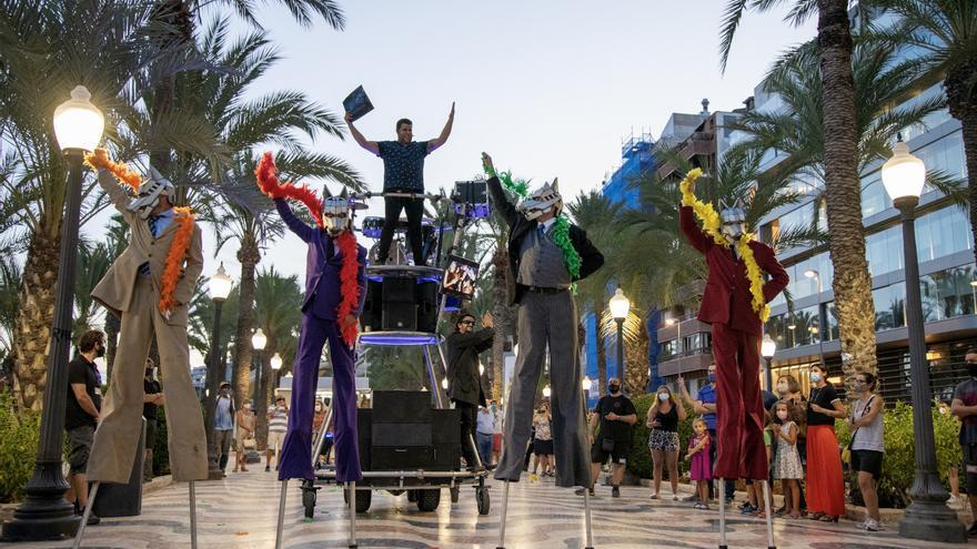 Cultura sigue sin saber por qué el Ayuntamiento de Alicante no autorizó el teatro en la calle