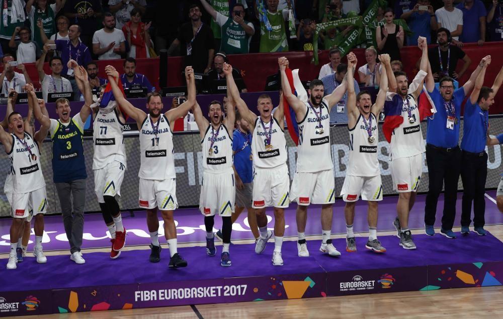 Final del Eurobasket 2017: Eslovenia - Serbia