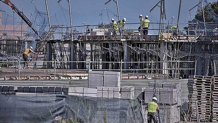 Los proyectos de nuevas viviendas se incrementan un 41% en Mallorca