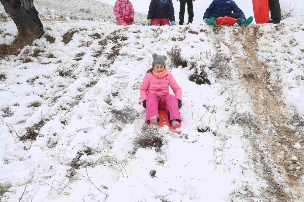 Nieve en Coy, Lorca