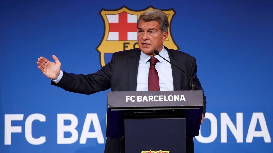 """Joan Laporta: """"El Barcelona está aún en la UCI, pero va mejorando"""""""