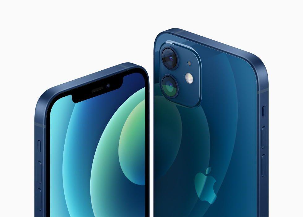 El nuevo iPhone 12.