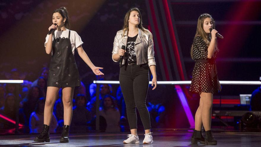 La grancanaria Giada lo da todo en las Batallas de 'La Voz Kids'