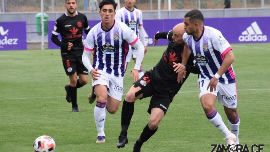 Tres jugadores del Zamora CF se enfrentan a una dura sanción por presuntas descalificaciones al árbitro