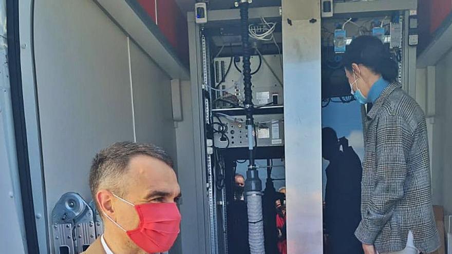 Carreño compartirá con Corvera la estación móvil de control del aire
