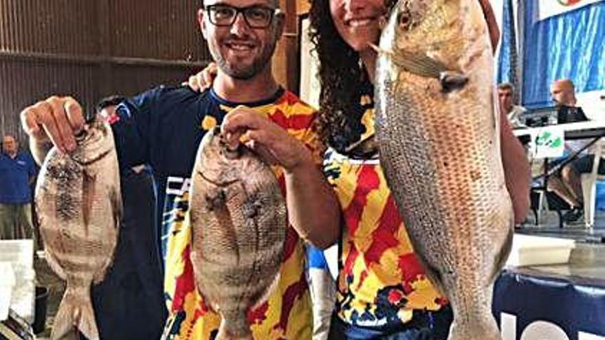 Sandra Prat triomfa a l'estatal de pesca