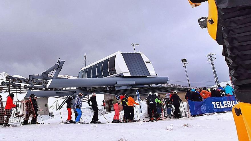 El cierre de Lena golpea a Pajares: limita su uso a los 500 esquiadores federados
