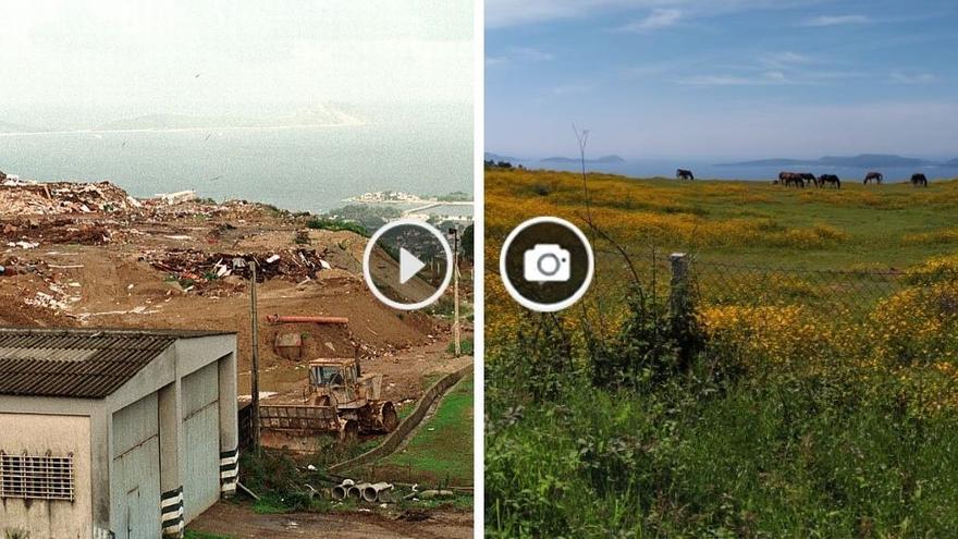 De ser el vertedero de Vigo a paisaje idílico prohibido por descontaminación