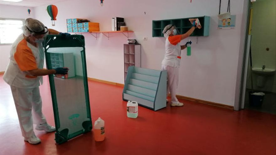 Las escuelas infantiles abren el mes próximo de manera progresiva