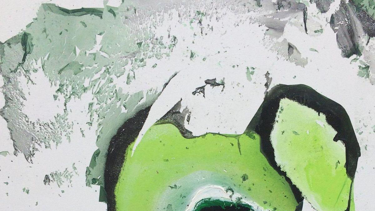 """Una pintura de la mallorquina Maria Puerto Fullana, """"mejor obra de arte del día"""""""